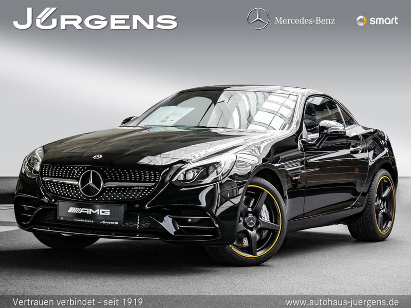 Mercedes-Benz SLC 43 AMG Final Edition/Navi/ILS/Memo/Night/HK, Jahr 2019, Benzin