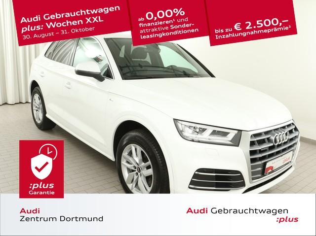 Audi Q5 50 TFSIe qu. sport Navi+/LED/eSitz/VC, Jahr 2020, Hybrid