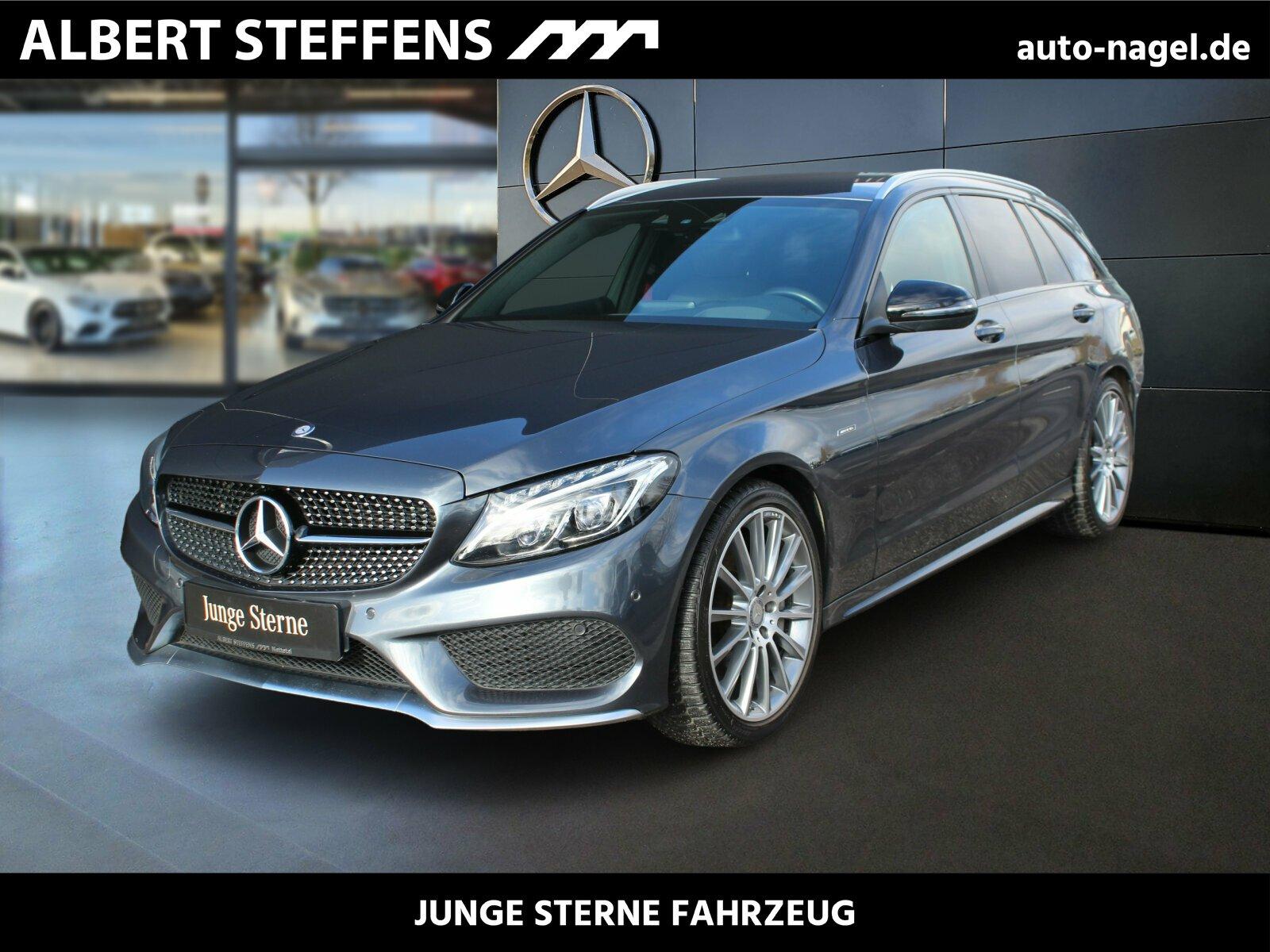 Mercedes-Benz C 450 AMG T 4M C43 +Navi+MemorySportsitze+LED+, Jahr 2016, Benzin