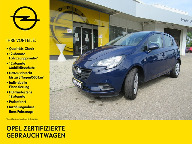Opel Corsa 1.2 Selection Radio R 3.0 Klima FH ZV, Jahr 2017, Benzin