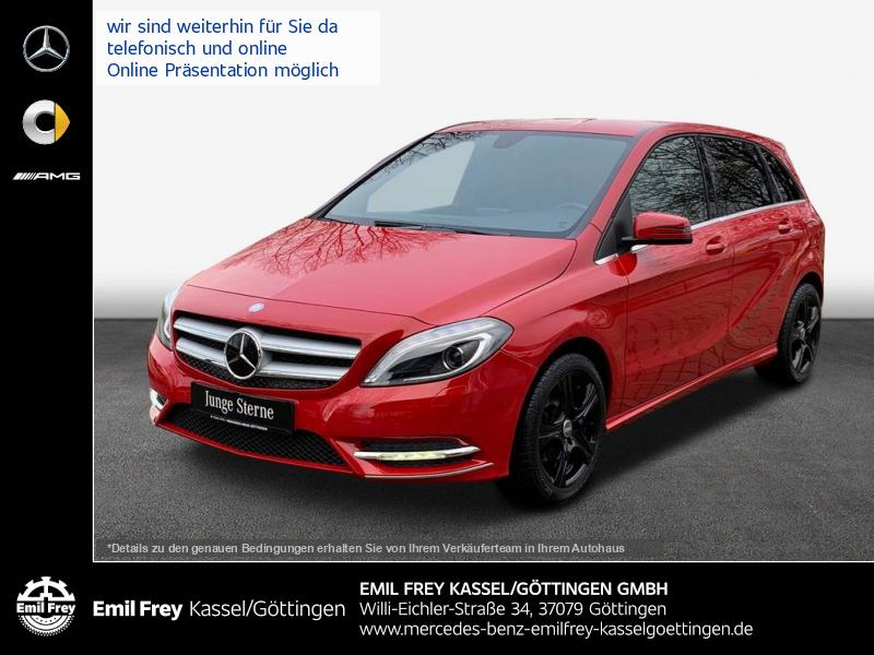 Mercedes-Benz B 180+SportPaket+Xenon+ParkAssist+Sitzhzg, Jahr 2014, Benzin