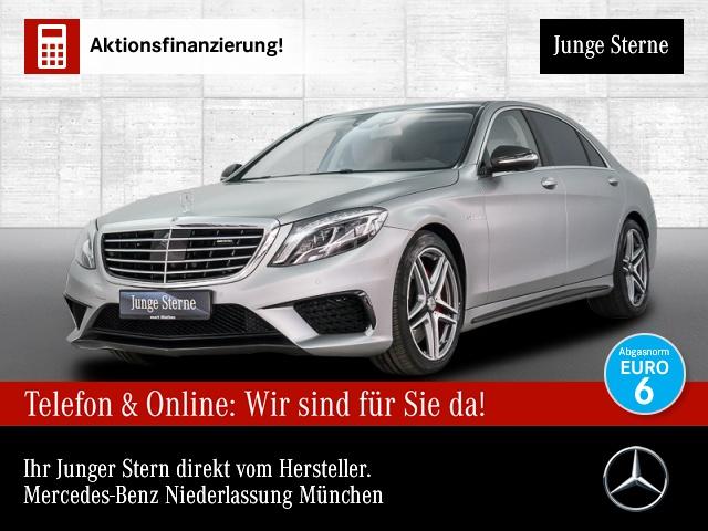Mercedes-Benz S 63 AMG L 4M Pano.Carbon.Fahrass.Exklusiv-Pak., Jahr 2017, Benzin
