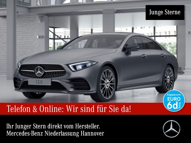 Mercedes-Benz CLS 450 Cp. 4M AMG Fahrass WideScreen 360° Distr., Jahr 2018, Benzin