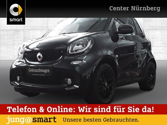 smart fortwo coupé 66kW prime cool&Media Sport SHZ Pano, Jahr 2016, Benzin