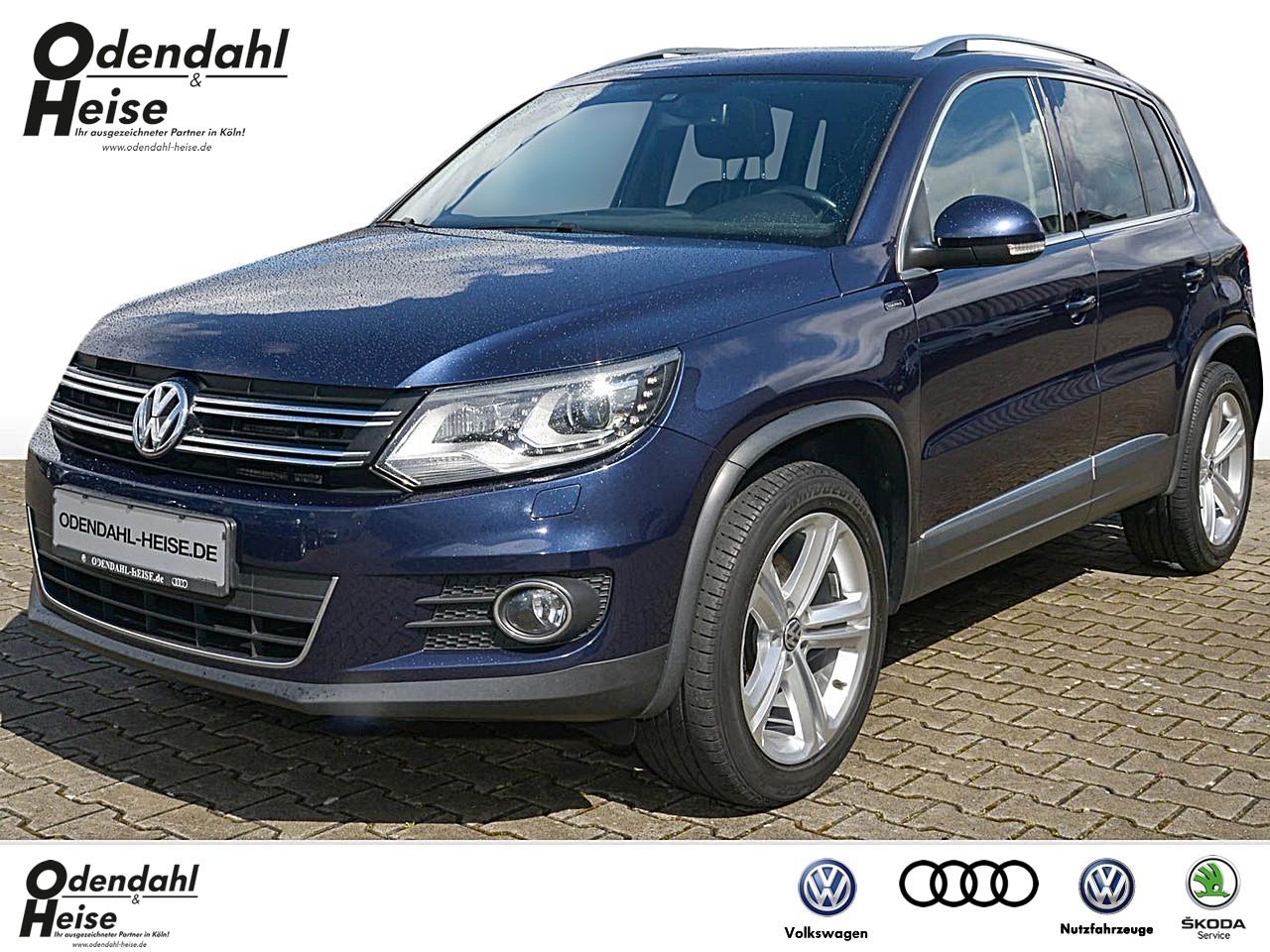 Volkswagen Tiguan 2,0 l TDI EU6 110 KW 7-Gang DSG 2.0 TDI BMT 4-Motion DSG LOUNGE Xenon Navi PDC Kamera Panorama, Jahr 2015, Diesel