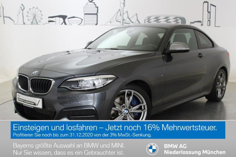 BMW M240i Coupé M Sportbr. HiFi Var. Lenkung LED, Jahr 2017, Benzin