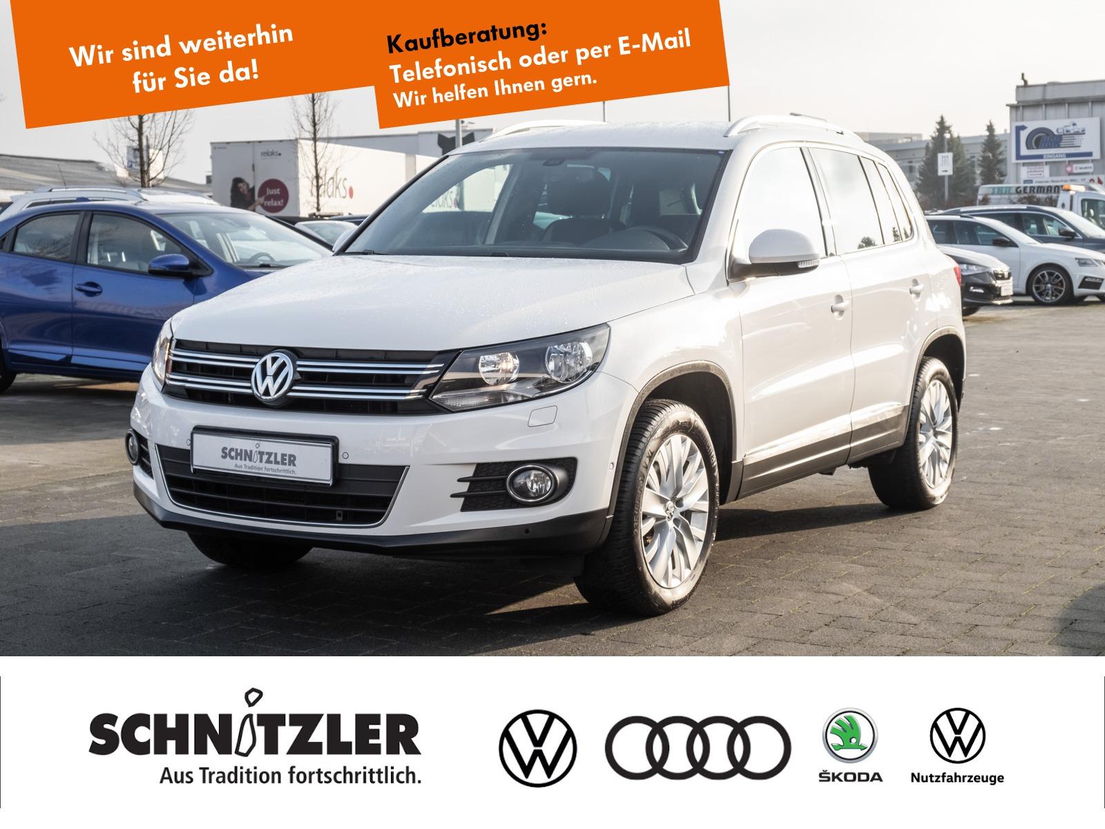 Volkswagen Tiguan 1.4 TSI Life SHZ/PARK ASSIST+++, Jahr 2013, Benzin