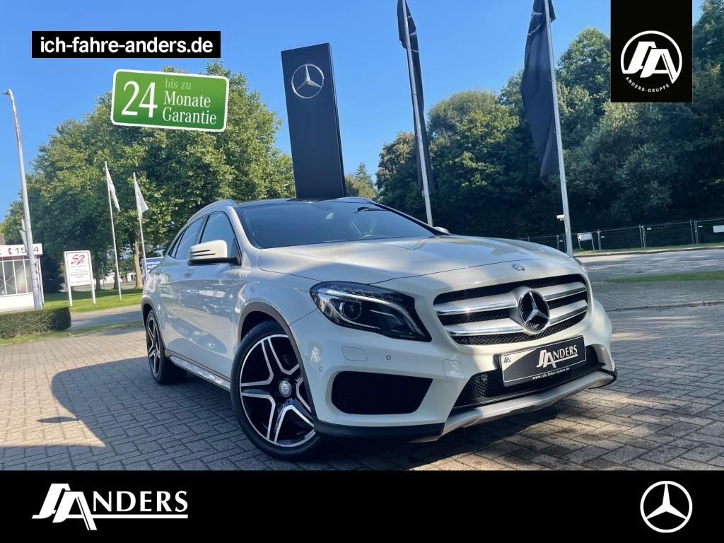 Mercedes-Benz GLA 220 CDI 4M AMG+Pano+Bi-Xenon+SHZ+Navi+Kamera, Jahr 2014, Diesel