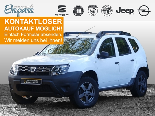 Dacia Duster Ice 4x2 1.6 16V 105 AHK KLIMA RADIO CD MP3 USB eFH, Jahr 2015, Benzin
