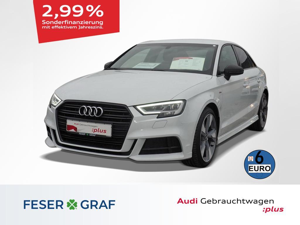 Audi A3 Lim 1.6TDI S tronic S line Ext./Black Edition, Jahr 2017, Diesel