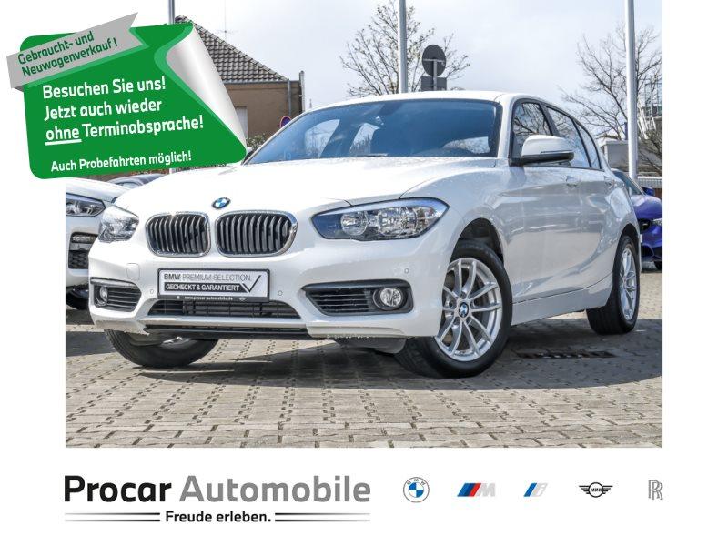BMW 120i NAVIGATION PDC SPORTLEDERLENKRAD KLIMA, Jahr 2018, Benzin