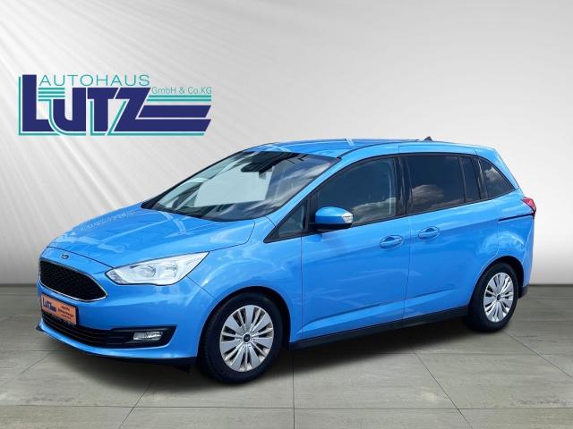Ford Grand C-Max Trend 1.0 EcoBoost 7-Sitzer Klimaanlage Winter-Paket City Stop, Jahr 2017, Benzin