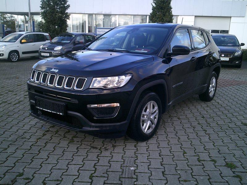 Jeep Compass Sport 1.4l 140PS, Jahr 2018, Benzin