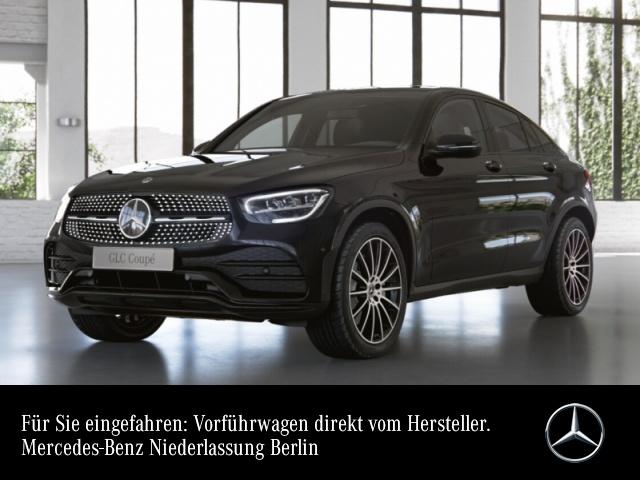 Mercedes-Benz GLC 200 4M Coupé AMG+Night+LED+Kamera+Spur, Jahr 2021, Benzin
