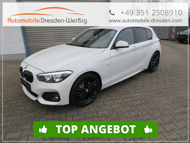 BMW 125i Aut. M Sport Shadow Line*LED*Navi*18Zoll, Jahr 2019, petrol