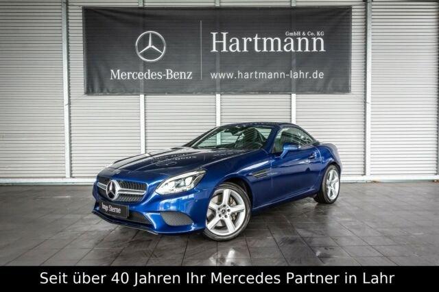 "Mercedes-Benz SLC 200 Navi ILS SHZ 17"" Totwinkel Einparkhilfe, Jahr 2018, petrol"