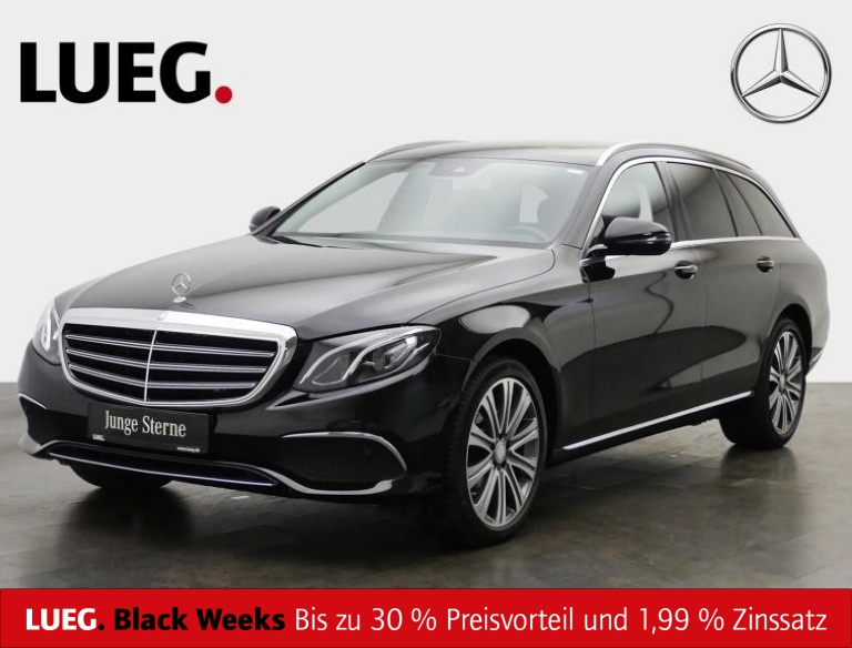 Mercedes-Benz E 220 d T Exclusive+COM+SHD+LED+19''+AmbiB+Kamer, Jahr 2018, Diesel