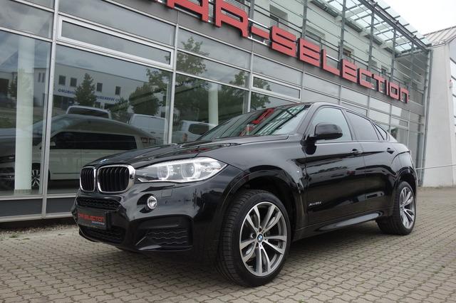 BMW X6 3.0D M SPORT PAKET HUD/KAM/LEDER/NAVI/XEN/20, Jahr 2015, Diesel