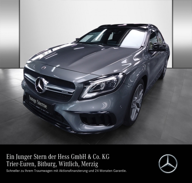 Mercedes-Benz GLA 45 AMG 4M Harman+Drivers P.+Comand, Jahr 2017, Benzin