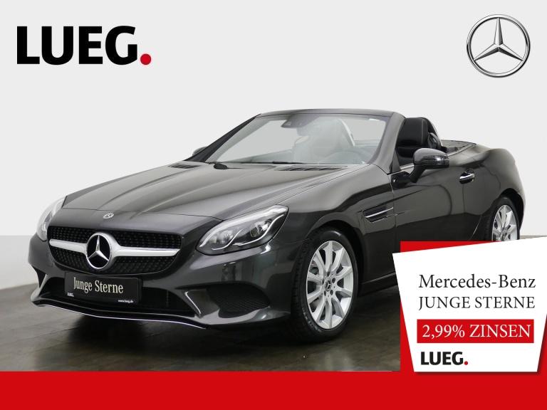 Mercedes-Benz SLC 180 Pano+LED-ILS+AIRSCARF+Totw+KeylGo+Kamera, Jahr 2019, Benzin