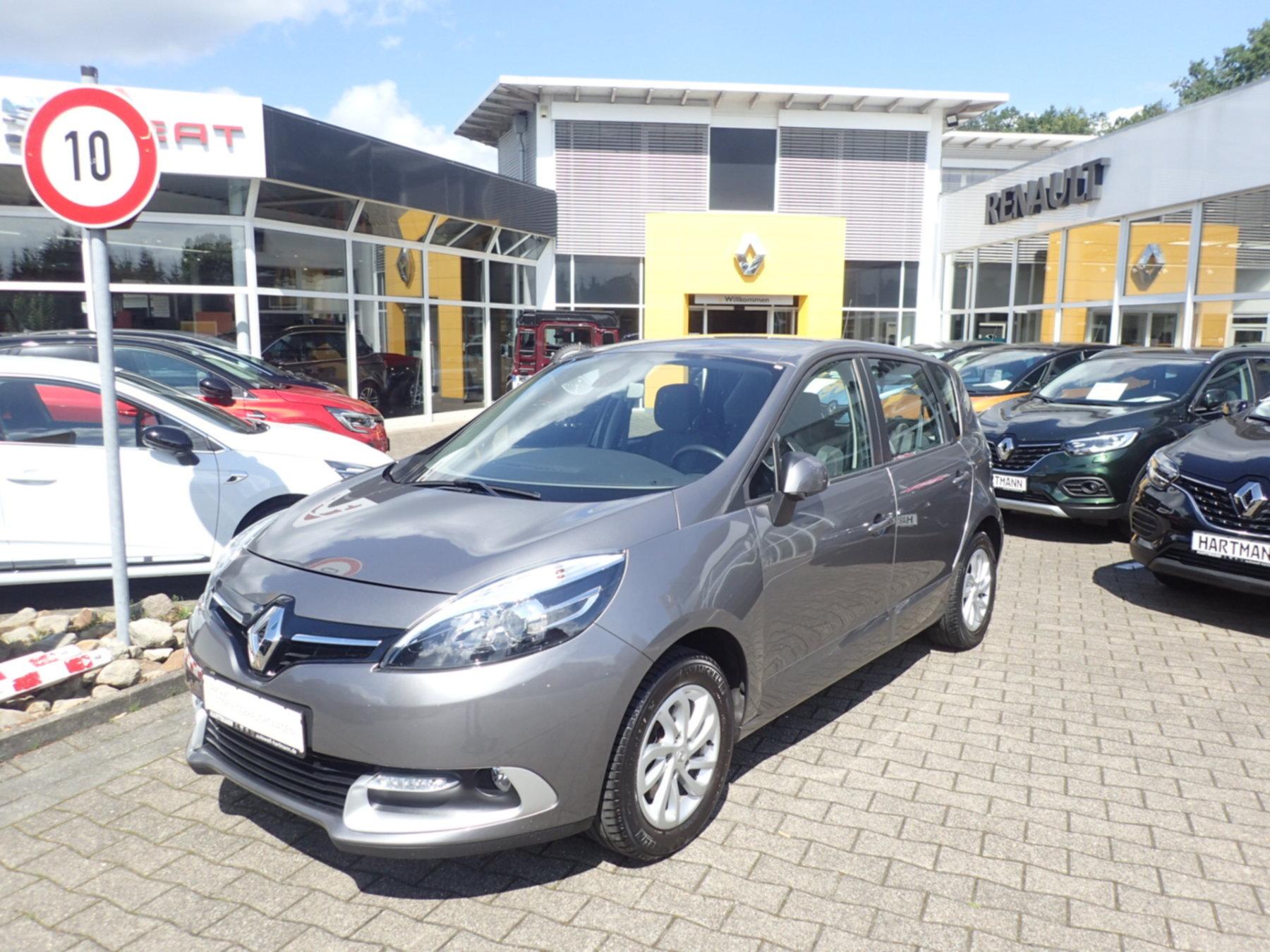Renault Scenic 1.2 TCe 115 Klima Tempomat Navi, Jahr 2013, Benzin