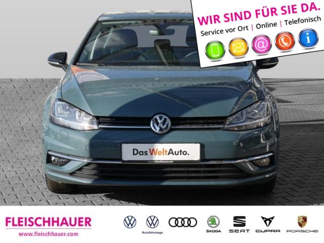 Volkswagen Golf VII IQ.DRIVE 1.0 TSI BMT NAVI STANDHEIZUNG ACC, Jahr 2019, Benzin