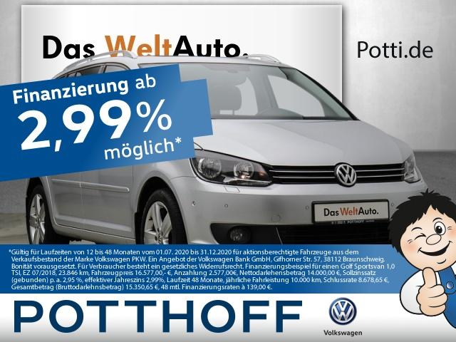 Volkswagen Touran 2.0 TDI LIFE-Plus 7-Sitzer AHK Tempomat PDC, Jahr 2013, Diesel