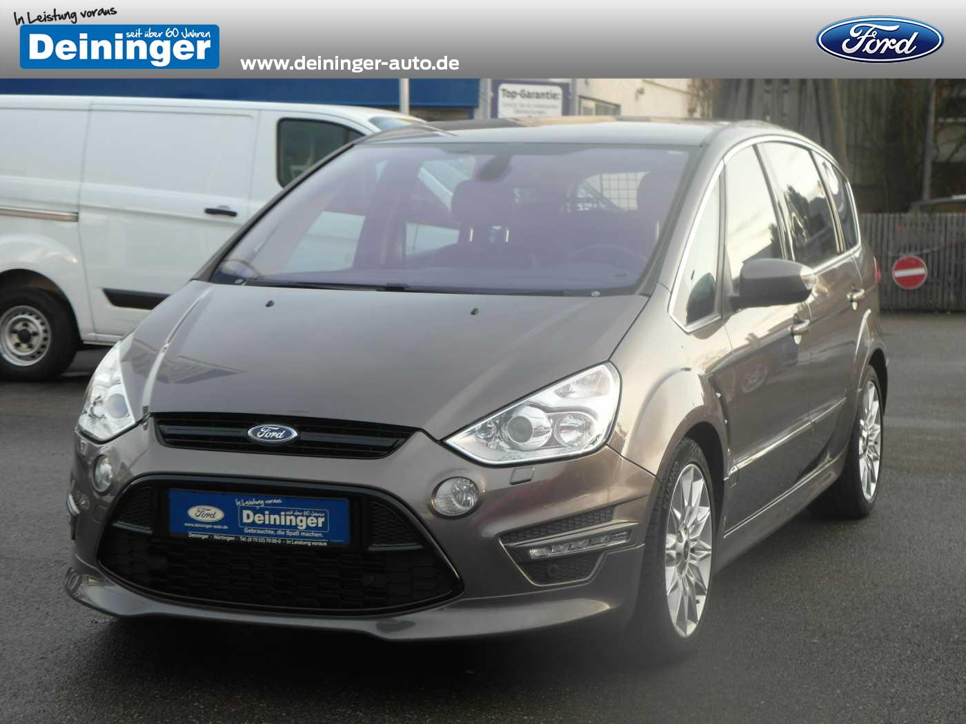 Ford S-Max 2.0 TDCi DPF Aut. Titanium S Navigation Standhzg. Bi-Xenon Winter-Paket Euro5, Jahr 2013, diesel