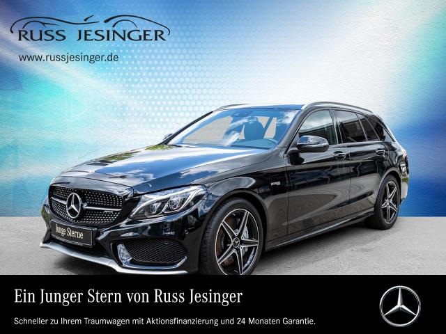Mercedes-Benz C 43 4MATIC T +STANDHZG +COMAND +LED +PANO + AHK, Jahr 2017, Benzin
