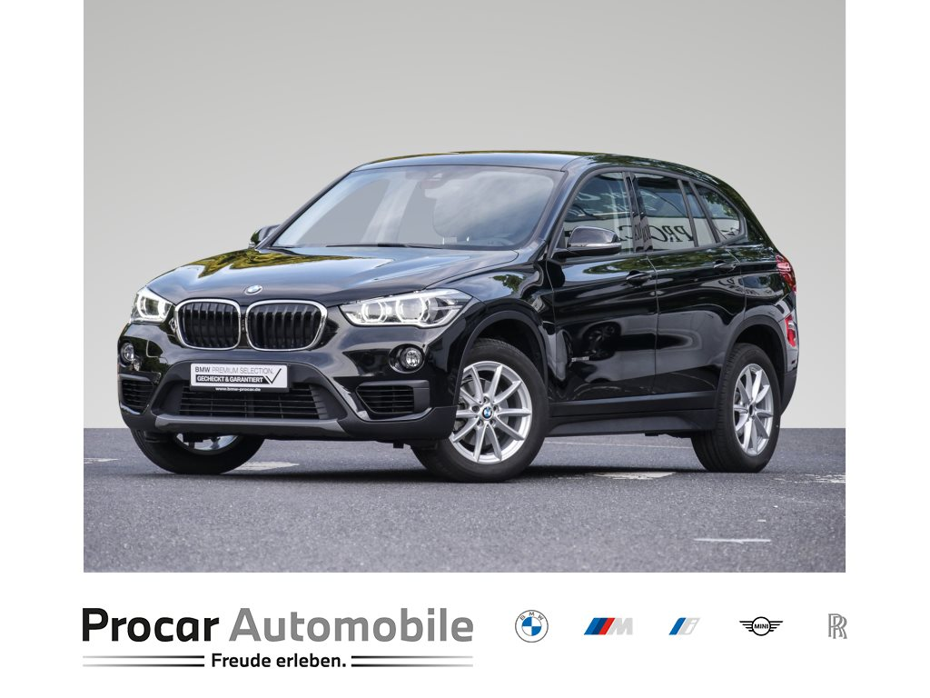 BMW X1 sDrive18i ADVANTAGE+LED+NAVI+BUSINESS PACK.+CD+SITZHEIZUNG, Jahr 2018, Benzin