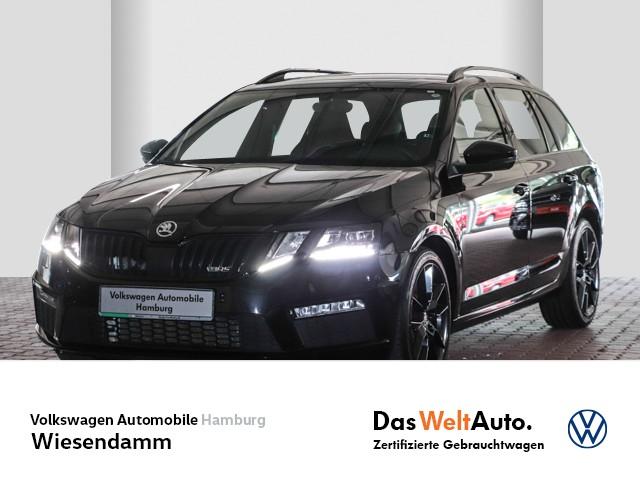 Skoda Octavia Combi RS 2.0 TSI DSG Klimaautomatik LED LM Navi Tempomat, Jahr 2018, Benzin