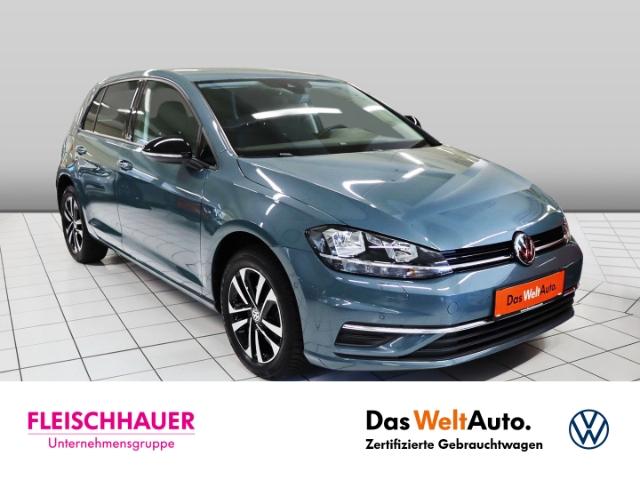 Volkswagen Golf VII IQ.DRIVE 1.0 TSI Navi+connect+PDC+SHZ+ACC, Jahr 2019, Benzin