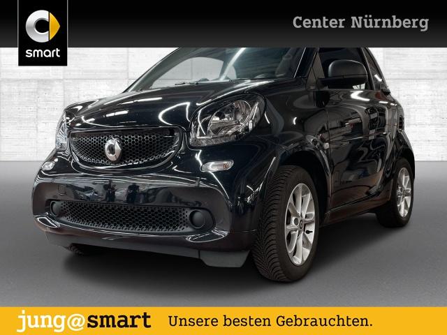 smart fortwo coupé 66kW passion DCT cool&Media SHZ Pano, Jahr 2017, Benzin