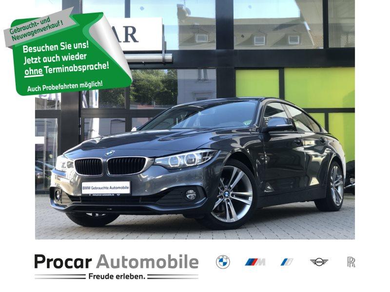 BMW 420i Gran Coupe Navi PDC AHK Shz HiFi Memory, Jahr 2018, Benzin