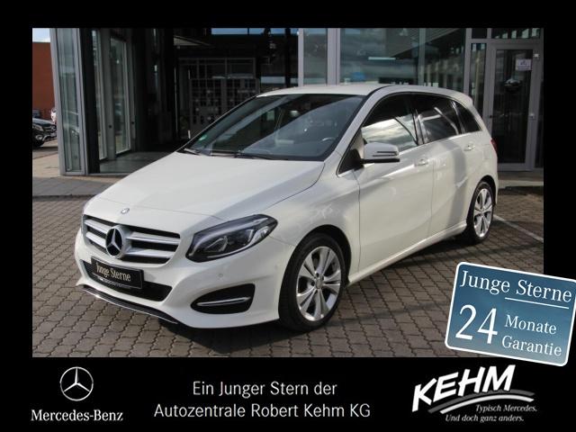 Mercedes-Benz B 250 URBAN+KLIMAAUT+AHK+MEMORY+EASYVARIO+KAMERA, Jahr 2015, Benzin