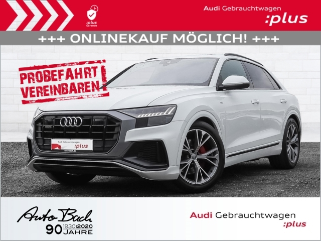 Audi Q8 S line 50TDI Matrix-LED B&O HUD AIR, Jahr 2020, Diesel