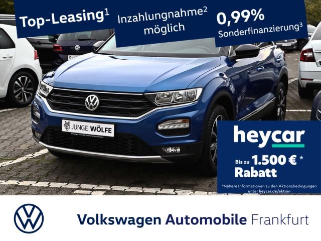 Volkswagen T-ROC 1.5 TSI Style Navi LaneAssist Anschlussgarantie T-ROC 1.5 CL BT110 TSIM6F, Jahr 2020, Benzin