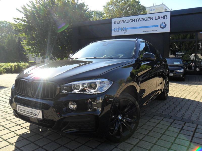 BMW X6 xDrive30d M-Sport EURO 6 Navi Prof Glasdach 20 LMR Driving Assistent Plus Head UP, Jahr 2015, diesel