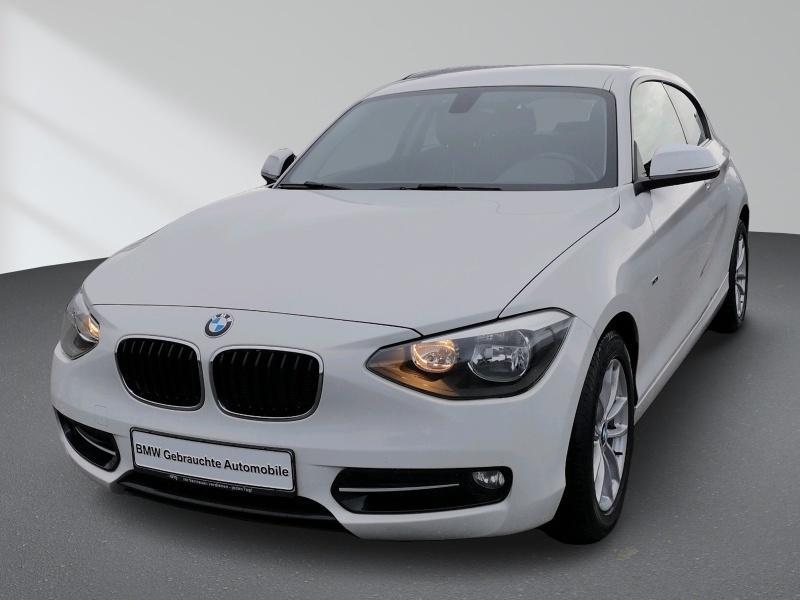 BMW 114d Sport Line Klimaautomatik Sportsitze Sitzheizung Nebelscheinwerfer, Jahr 2013, Diesel