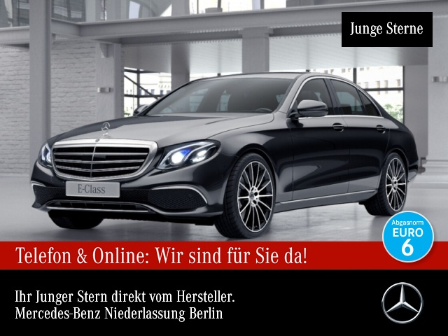 Mercedes-Benz E 450 4M Exclusive SHD Wide Distr. Mutibeam, Jahr 2020, Benzin