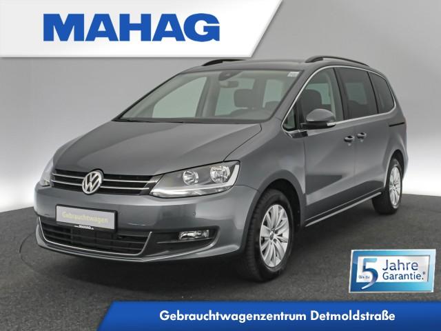 Volkswagen Sharan Comfortline 2.0 TDI 7-Sitzer Navi AHK BlindSpot LaneAssist ParkPilot DAB+ Bluetooth 6-Gang, Jahr 2020, Diesel