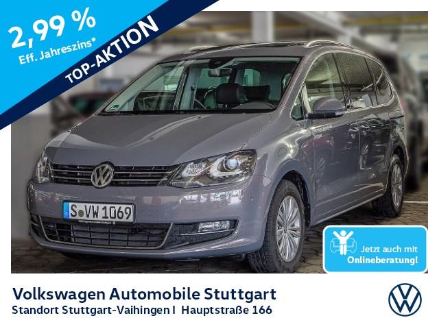 Volkswagen Sharan Highline 2,0 l TDI SCR 110 kW (150 PS) 6-Gang-Doppelkupplungsgetriebe DSG, Jahr 2020, Diesel