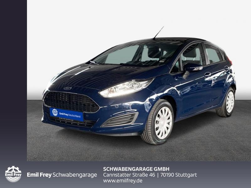 Ford Fiesta Trend PDC Navi Klima, Jahr 2016, Benzin