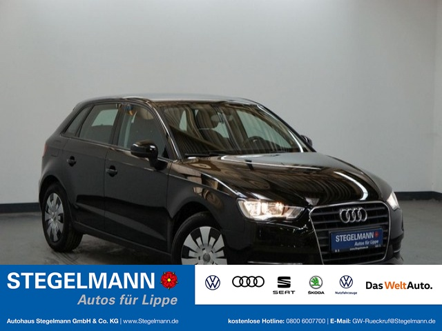 Audi A3 Sportback 1.2 TFSI Attraction Klima AHK, Jahr 2014, Benzin