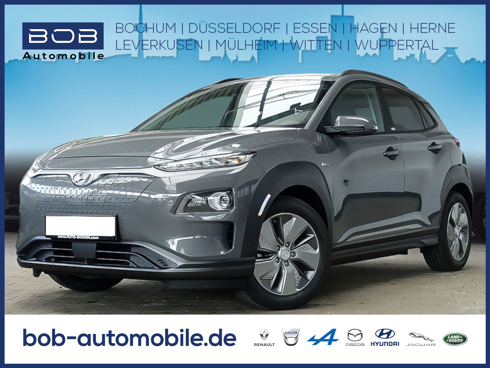 Hyundai Kona Electro Sonderkontingent e-Kong SHZ, Jahr 2020, Elektro