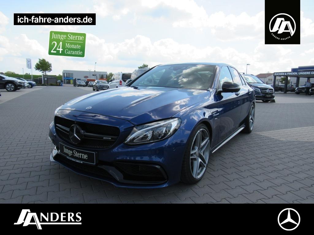 Mercedes-Benz C 63 AMG Navi+Distr+Sitzklima+360°+HUD+Keyl+Memo, Jahr 2017, Benzin