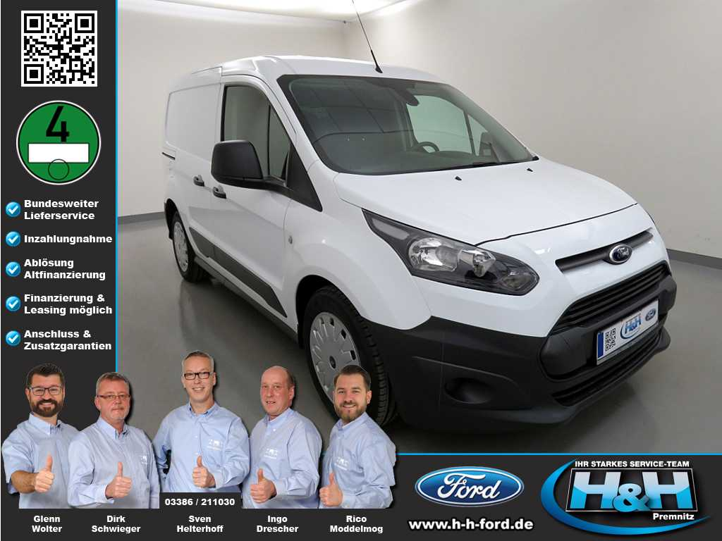 Ford Transit Connect 1,6 TDCi 200 L1 (AHK,Bott-System), Jahr 2016, Diesel