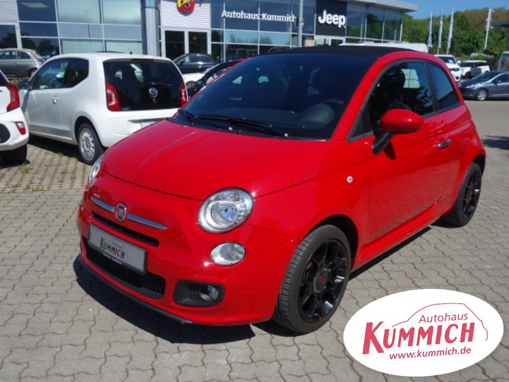 Fiat 500C Sport 1,2 69PS, Jahr 2014, Benzin