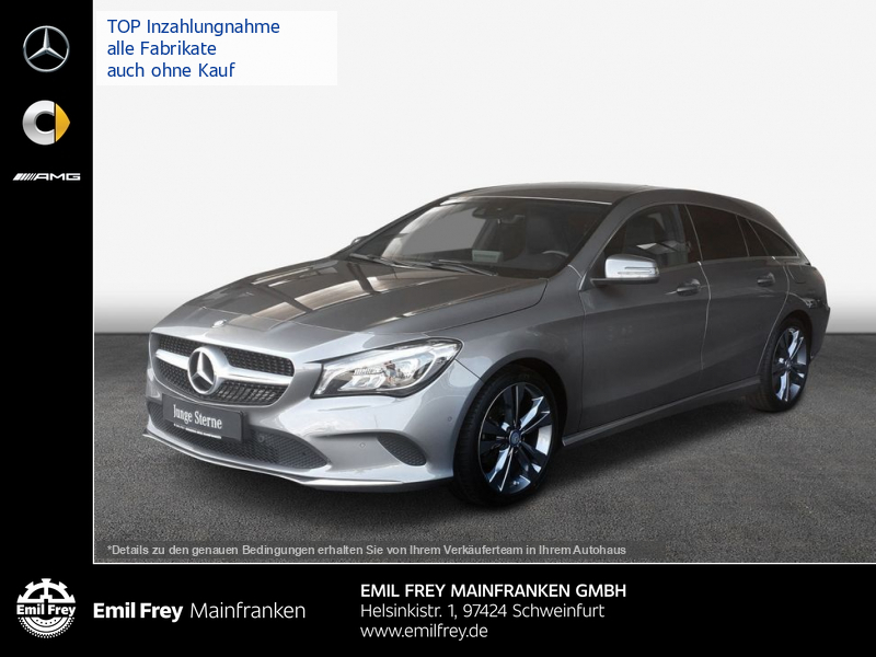 Mercedes-Benz CLA 200 SB Urban Navi LED 18'' Sitzkomfort, Jahr 2016, Benzin