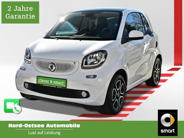 smart fortwo Coupé 52 kW prime cool+Audio LED Pano SHZ, Jahr 2019, Benzin